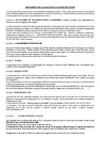 règlement salle polyvalente